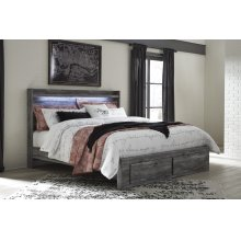 Rusthaven - Brown 5 Piece Bed Set (King)