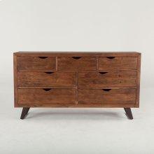 """London Loft Dresser 71"""" walnut"""