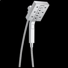 Chrome H 2 Okinetic ® In2ition ® 4-Setting Two-in-One Shower