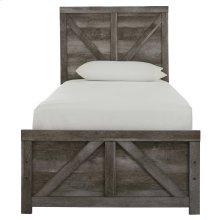 Wynnlow - Gray 2 Piece Bed Set (Twin)