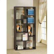 Casual Cappuccino Bookcase Product Image