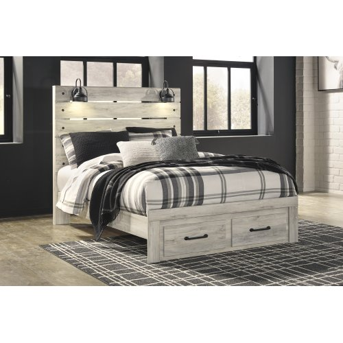 Cambeck - Whitewash 3 Piece Bed Set (Queen)