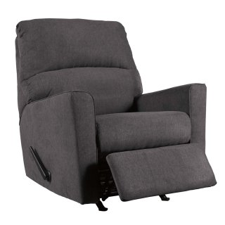 Alenya Rocker Recliner Charcoal