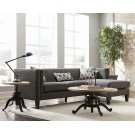 Sawyer Contemporary Dusty Blue Sectional Product Image