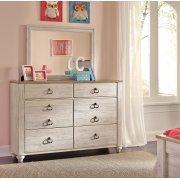 Willowton - Whitewash 2 Piece Bedroom Set Product Image