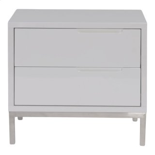 Naples Side Table White