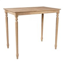 T-3048T / T-342T Rectangle Table (top only) / Turned Legs