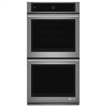 "Euro-Style 27"" Double Wall Oven with MultiMode® Convection System Stainless Steel"