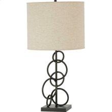 Contemporary Bronze Lamp