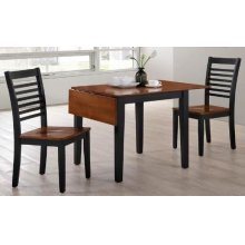 5004 Chelsea 3PC Drop-Leaf Dining Set; Table & 2 Chairs