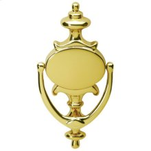 Door Accessories  Imperial Door Knocker - Bright Brass