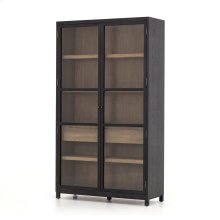 Millie Cabinet-drifted Black/drifted Oak