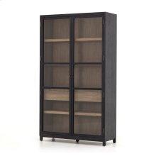 Millie Cabinet-drifted Black/drifted Oak