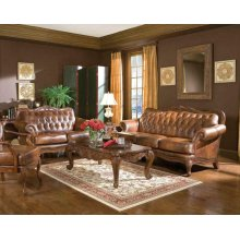 Victoria Traditional Tri-tone Two-piece Living Room Set