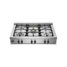 36 Rangetop 5 Burners Stainless Steel
