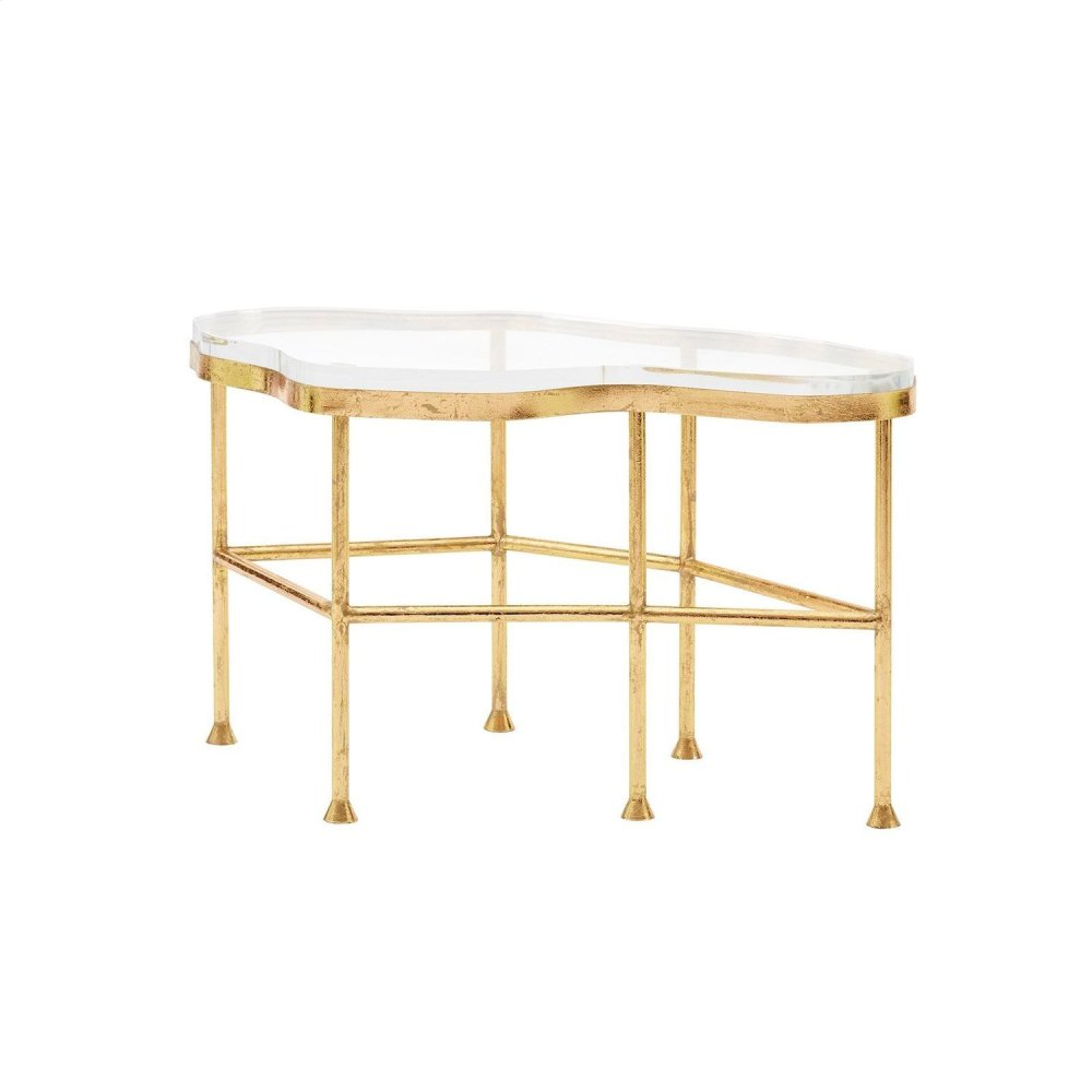Cristal Coffee Table, Gold