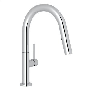 Polished Chrome Modern Lux Pull-Down Bar/Food Prep Faucet Product Image