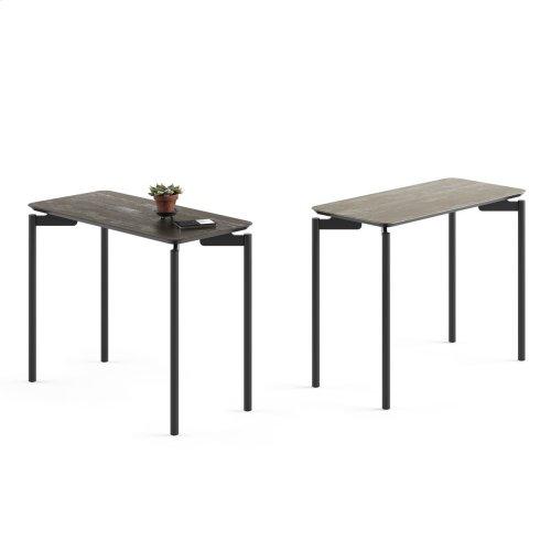 1733 Rectangular End Table BDI in Ferrous