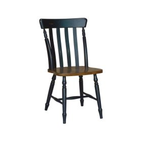 Cottage Chair in Espresso & Aged Ebony