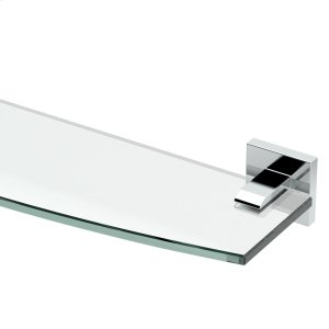 Elevate Glass Shelf in Chrome Product Image