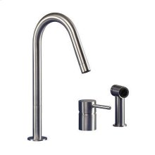 The F2 series is characterized by the independent, rotating spout.