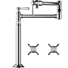 Chrome Single lever kitchen mixer