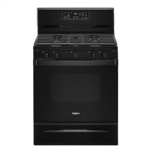 5.0 cu. ft. Whirlpool® gas range with center oval burner