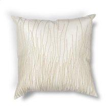 "L188 Ivory Simplicity Pillow 18"" X 18"""