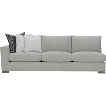 Nicolette Left Arm Sofa in Mocha (751)