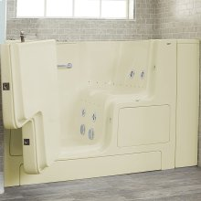 Premium Series 32x52-inch Combo Massage Walk-In Tub  Outswing Door  American Standard - Linen