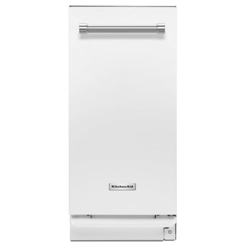 1.4 Cu. Ft. Built-In Trash Compactor White