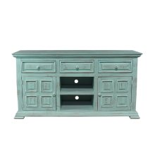 "Charleston Aqua Green 60"" TV Stand"