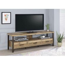 """Rustic Weathered Pine 71"""" TV Console"""