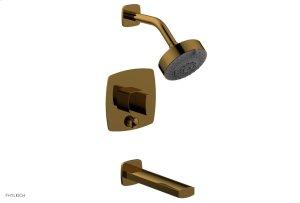 RADI Pressure Balance Tub and Shower Set - Blade Handle 181-26 - French Brass Product Image