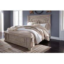 Charmyn - Whitewash 3 Piece Bed Set (Cal King)