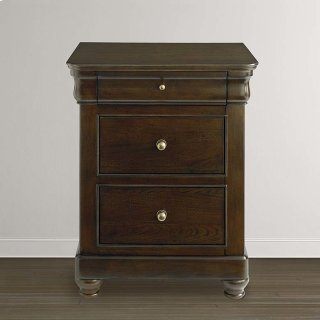 Provence Espresso Provence Bedside Table