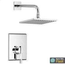 Times Square Shower Only Trim with Pressure Balance Cartridge  American Standard - Polished Chrome