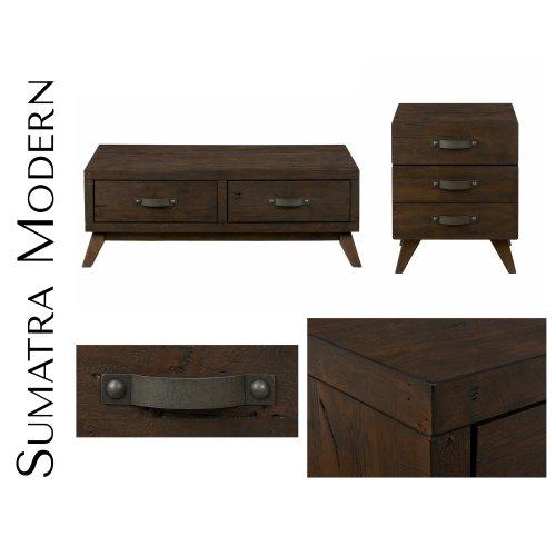 Sumatra Modern End Table