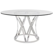 Gustav Round Metal Dining Table