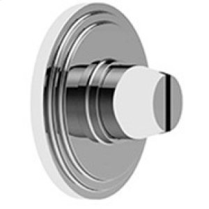 Satin Nickel Bathroom coin release, concealed fix