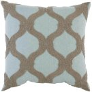 """Luxe Pillows Boucle Ogee (22"""" x 22"""") Product Image"""