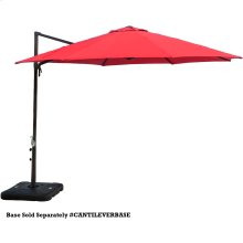 Red Cantilever Umbrella