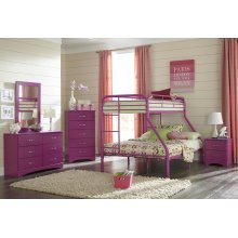 Raspberry Twin/Full Bunkbed