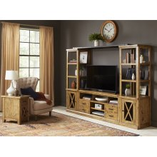 "Telluride Entertainment Wall W/60"" Console"
