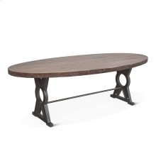"""French Market Oval Dining Table 94"""""""