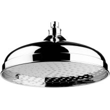 """Antique Gold 12"""" Skirted shower head"""