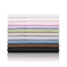 Brushed Microfiber Queen Pillowcase Blush
