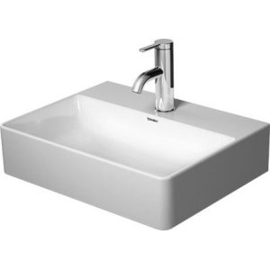 Durasquare Handrinse Basin Ground 1 Faucet Hole Punched
