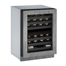 "Modular 3000 Series 24"" Wine Captain® Model With Integrated Frame Finish and Field Reversible Door Swing (115 Volts / 60 Hz)"