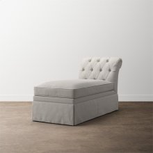 Allister Petite Armless Chaise